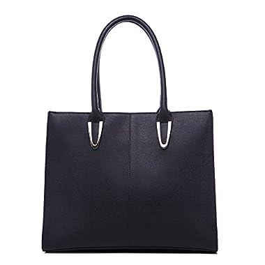 LeahWard Women's Multi Pockets Shoulder Bag Large Tote Handbag