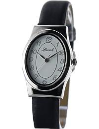 Spirale - Montre Femme - 212888 - Quartz Analogique - Bracelet Cuir en Noir