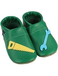 84b5b0300a0bb Amazon.fr   Vert - Chaussons   Chaussures bébé garçon   Chaussures ...