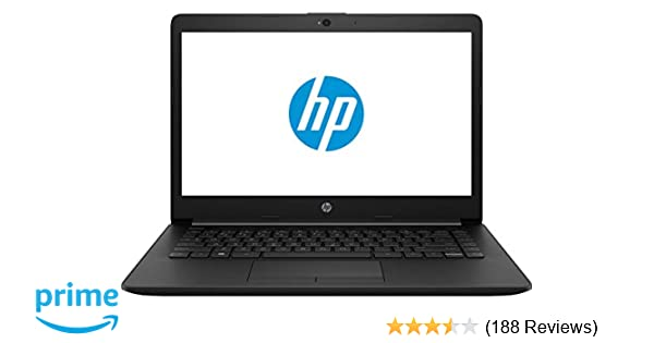 HP 14Q CS0009TU 2018 14-inch Laptop (7th Gen Core i3 7020U/4GB/1TB/DOS  2 0/Integrated Graphics), Jet Black