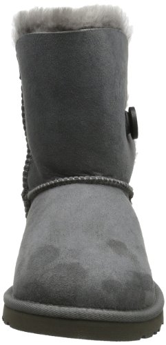 UGG K's Bailey Button 5991, Stivali, Unisex bambino Gris (grise (gris))