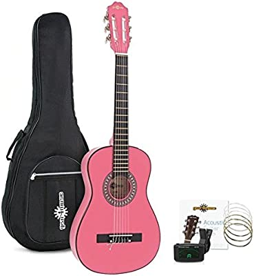 Pack de Guitarra Española Junior 1/2 de Gear4music - Rosa
