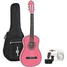 Pack de Guitarra Española Junior 1/2 de Gear4music - Rosa
