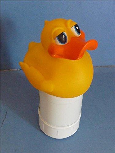 Schwimmende Ente Chlor oder Brom Tablet Spender für Schwimmbäder, Spas und Hot Tubs