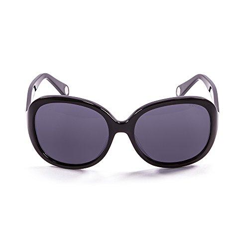 OCEAN SUNGLASSES - Elisa - lunettes de soleil polarisÃBlackrolles  - Monture : Noir LaquÃBlackroll - Verres : Revo Bleu (15300.1)