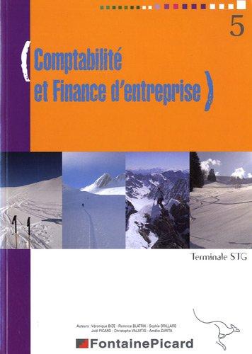 Comptabilité et Finance d'Entreprise Terminale STG