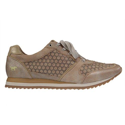 MUSTANG - 1237-301 - Damen Sneaker - Grau Schuhe in Übergrößen Grau