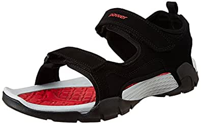 Power Men's Alpha Red Floaters-7 UK/India (41 EU) (8615859)