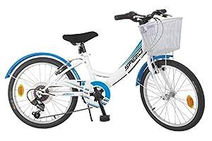 TOIMSA - Bicicleta de montaña de 20 Pulgadas, Modelo City 6 velocidades, 7-9 años, 515