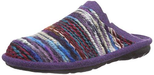 Romika Mikado 66 Damen Pantoffeln Mehrfarbig (lila-multi 583)