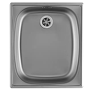 Alveus Sink 18/10 Stainless Steel – Size: 38 x 44 cm, Type: Set of 10 1
