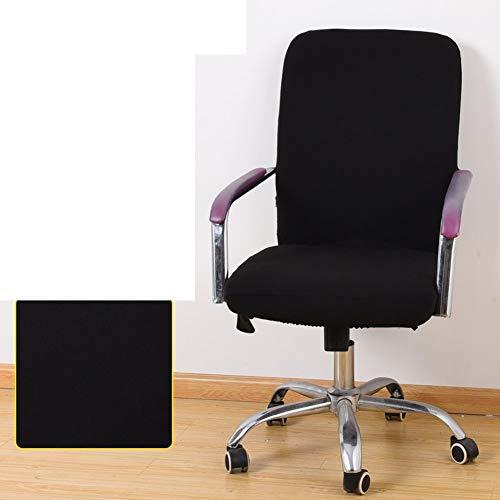Sishe Stuhl Silpcover Bürostuhlabdeckung Computerabdeckung Abdeckungen für Stuhlrücken Stoffhandschuhe-L by (Farbe : A)