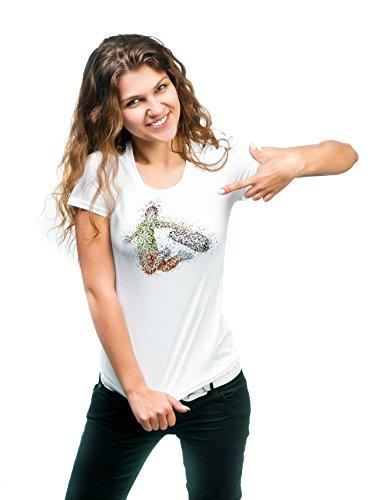 Skate-T-Shirt Sport 180g. Premium Qualität Schnelltrocknung (Frau, (Outfits Kerl Niedlichen)