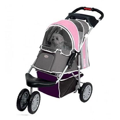 Pet Stroller Ips-09/Blue, dog carrier, trolley, Trailer, Innopet, Buggy First Class. Foldable pet buggy, pushchair, pram… 4