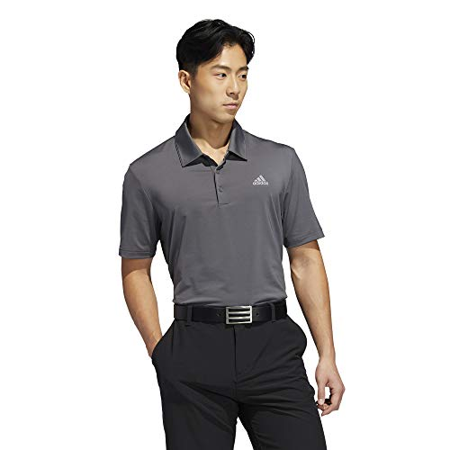 adidas Herren Ultimate 365 Solid Polo Shirt Poloshirt Grau (Gris Oscuro Dq2349) X-Large -