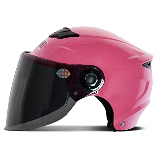 Motorradhelm Elektrische Autos Männliche Und Weibliche Helm Sommer Halbhelm UV-proof ( Farbe : #1 )