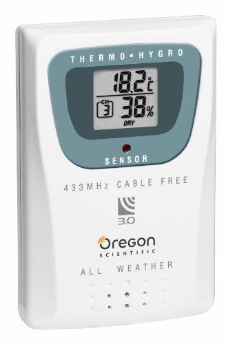 oregon scientific thgr 810 d tecteur de temp rature humidit int rieur maison. Black Bedroom Furniture Sets. Home Design Ideas
