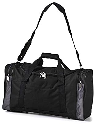 5 Cities Lightweight Hand Luggage Cabin Sized Sports Duffel Holdall - low-cost UK light shop.