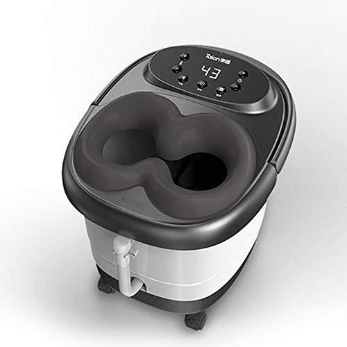 ZXCVB Pie de hidromasaje automática masaje de pies eléctrico Calefacción espuma pie Cubo Inicio temperatura...