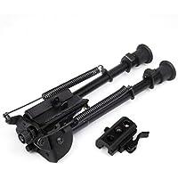 9-13 pollici pieghevole girevole modello del fucile Bipiede alta antiurto ripresa supporto della pistola di base solida Bench Rest Bipiede con QD Bi-pod adattatore