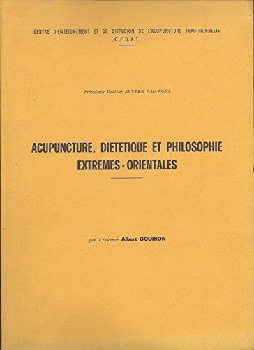 Acupuncture dietetique et philosophie ex...