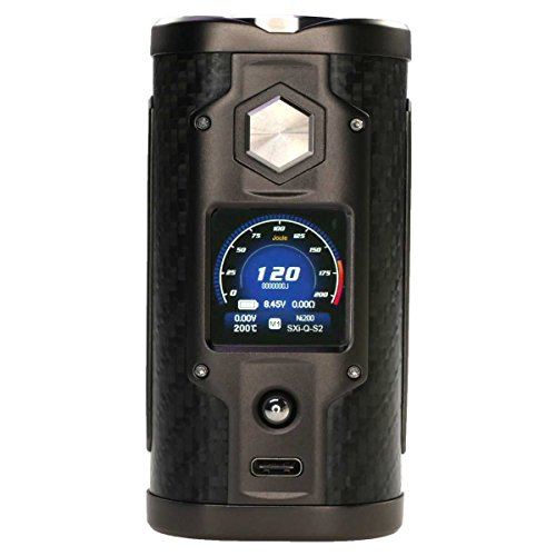 SXmini G Class Box MOD 200 Watt, Riccardo e-Zigarette - Akkuträger, carbon fiber (Carbonfaser)