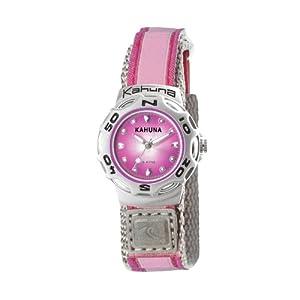 Kahuna K1M-3039L – Reloj analógico para Mujer, Correa de Tela Color