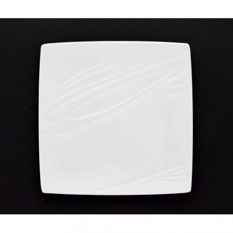 PORCELAINE BLANCHE Assiette à dessert 'Kensai' (lot de 6) - KENSAI PLATE 21 cm