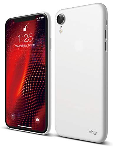"""elago Inner Core Case iPhone XR 6.1"""" Hülle - [Das dünnste und leichteste Cover] [Schützt nur vor Kratzern] [Kompatibel mit kabellosem Laden] für Apple iPhone XR 6.1 inch LCD (2018) - Weiß"""
