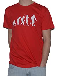 Evolution Football - Funny T-Shirt - Footballer Top Tee