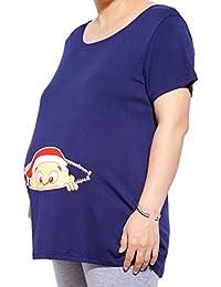 Mutterschaft lustige Umstandsmode T-Shirt mit Motiv Schwangerschaft Geschenk Schwangerschaftsshirt/T-Shirt Farbewahl