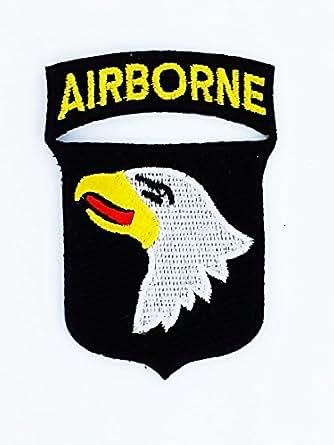 Patch ecusson brodé insigne airborne airborne 101 st us army marines militaire