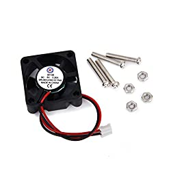 Generic DC 5V 0.2A Cooling Fan w/ Screws for Raspberry Pi Model B+ / Raspberr...-14011076MG