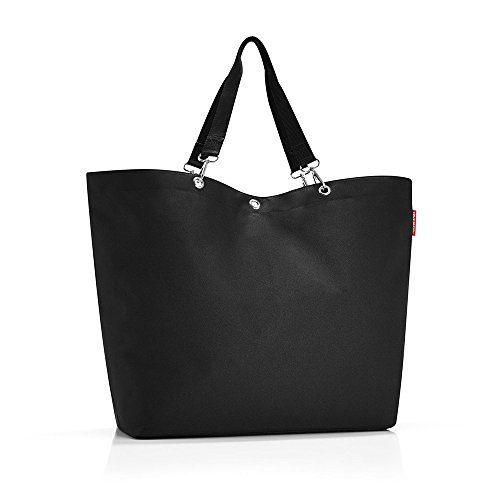 reisenthel shopper XL black Maße: 68 x 45,5 x 20 cm / Volumen: 35 l (Family Beach Tote)