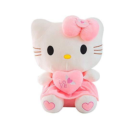 o Kitty Plüschtier Kuscheltier Stofftier Weiches Kissen Puppe Geburtstag (30-100cm),Pink,30cm ()