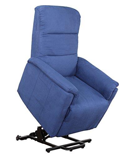 Smart Reha - Relaxsessel \'Vela\' mit elektrischer Aufstehfunktion, Verstellbare Rückenlehne und Fußteil