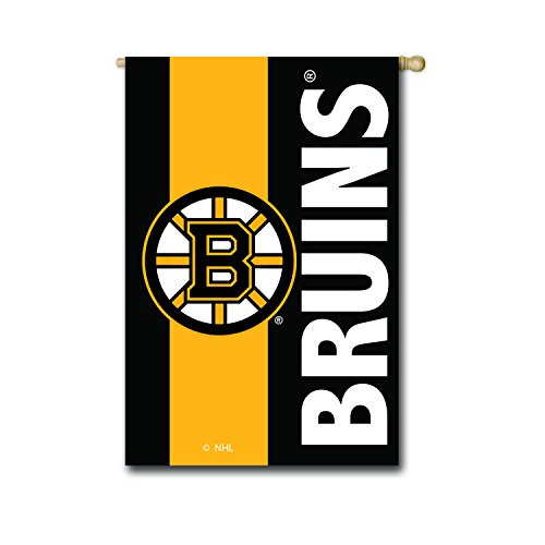 Team Sport Amerika NHL Outdoor Safe Bestickt Doppelseitig Logo Aufnäher Flagge, Boston Bruins, House