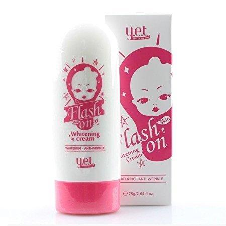 YET Flash Skin on Whitening Cream 75g Quick Whitening &