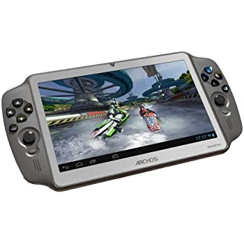 Archos Game Pad 17,8 cm (7 Zoll) Tablet-PC (Rockchip Dual-Core, 1,6GHz, 1GB RAM, 8GB Flashspeicher, Mali 400, Android 4.0) anthrazit