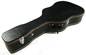 Tone Deaf Music Wooden Hard Case for Acoustic/Dreadnought Guitar