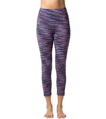 Lapasa-Womens-Sport-Leggings-Yoga-Pants-Running-Tights-With-Hidden-Pocket-1-2-Pack-L01-Purple-Space-SUK-8-10-Waist-See-chart