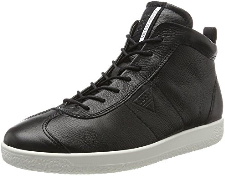 Ecco Herren Soft 1 Men's Hohe Sneaker