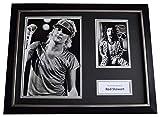 Sportagraphs Rod Stewart Signed Framed Photo Autograph 16x12 display Music AFTAL COA