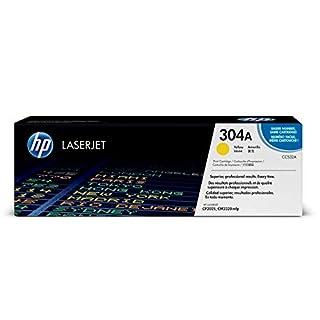 HP 304 - Cartucho de tóner Original HP 304A Amarillo para HP Color LaserJet CP2025, CM2320mfp (B001DXKGKM)   Amazon price tracker / tracking, Amazon price history charts, Amazon price watches, Amazon price drop alerts