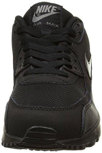 Nike Air Max 90 Mesh (Gs) Scarpe da ginnastica, bambini Black/Black-Cool Grey