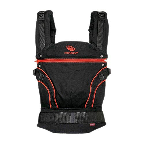 manduca First Blackline Radical Red + fumbee grau (Auslaufmodell)