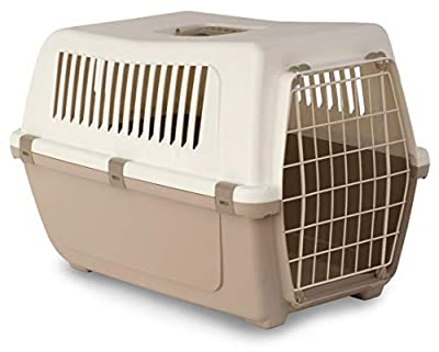 Rosewood Vision Classic Cat and Pet Carrier 60 cm, Large, Mocha by MP Bergamo