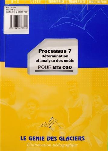 Processus 7 Détermination et analyse des coûts pour BTS CGO