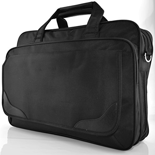 Preisvergleich Produktbild Schultertasche Aktentasche Flugbegleiter Laptop Laptoptasche Umhängetasche Business Messenger Bag Notebook Tasche Black NEU