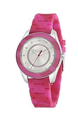 Just Cavalli R7251602503 - Reloj de cuarzo para mujer, correa de plástico color rosa de Just Cavalli